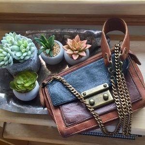 EUC Anthropologie beracamy genuine leather bag